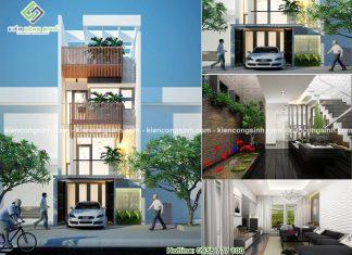 Nhà Phố 3 Tầng Sân Thượng Cô Hoa Phan Thiết