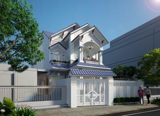 Thiết Kế Biệt Thự Mini 2 Tầng Sang Trọng Tại Đồng Nai