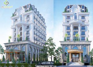 Mẫu thiết kế khách sạn cổ điển chị Loan Tại Đồng Nai