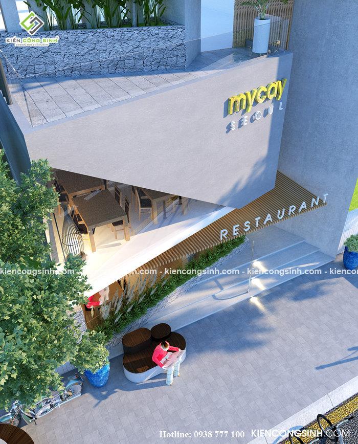 thiết kế nhà hàng mỳ cay