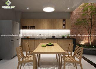 Tư vấn thiết kế nội thất phòng bếp hiện đại đẹp