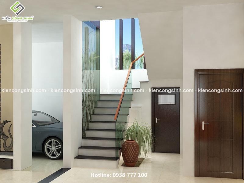 thiết kế biệt thự 2 tầng đồng nai