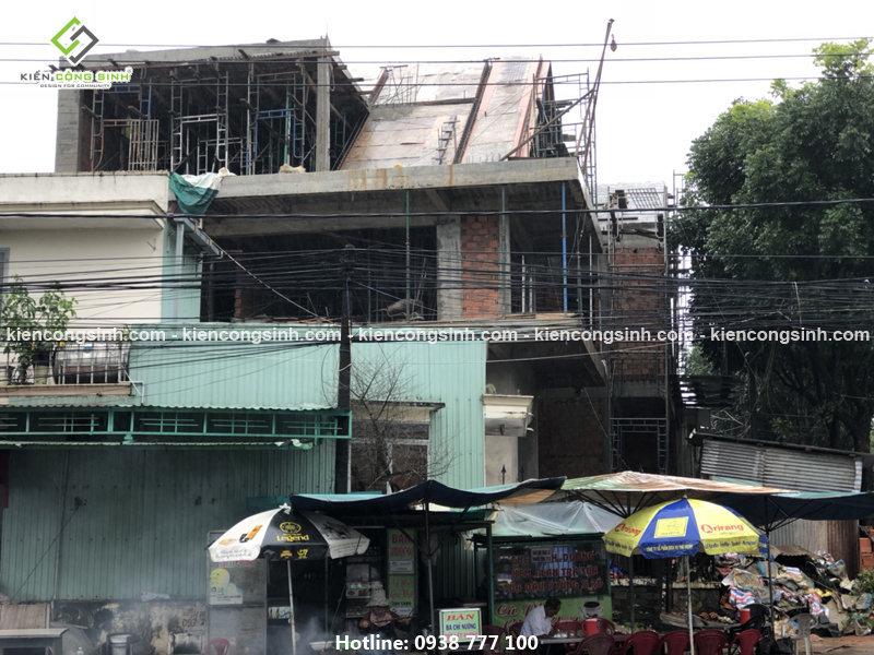 thi công xây dựng biệt thự villa 2 tầng