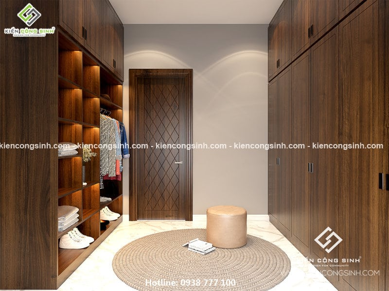 thiết kế nội thất biệt thự 2 tầng
