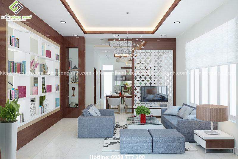 thiết kế biệt thự villa 2 tầng