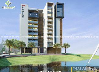 Thiết kế khách sạn hiện đại Thái An tại Đà Nẵng