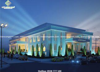 Mẫu thiết kế nhà hàng tiệc cưới tại Đà Nẵng