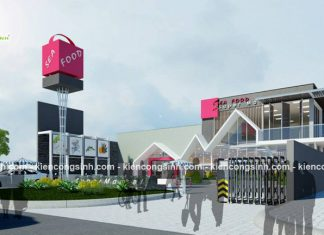Dự án thiết kế siêu thị sea food super market tại Đồng Nai