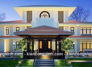 Thiết kế villa resort nghỉ dưỡng by night tại Cà Mau