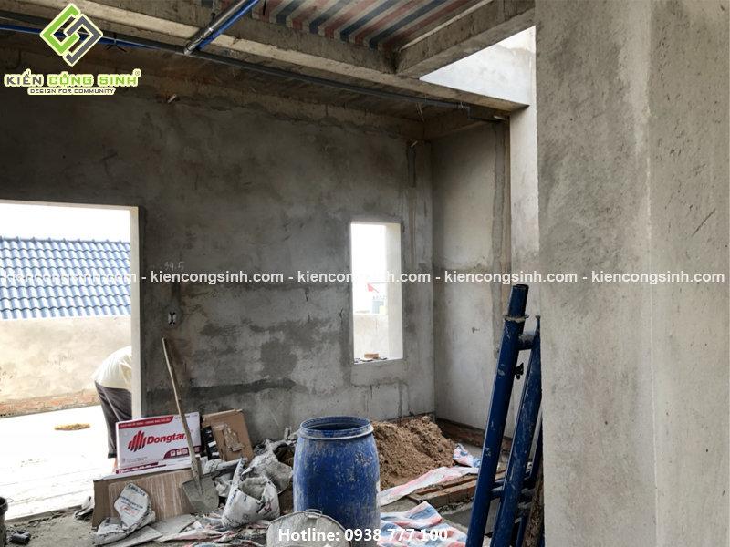 xây dựng biệt thự phố 3 tầng mặt tiền 8m