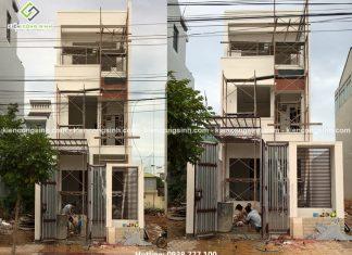 Thi công xây nhà ống 3 tầng hiện đại tại Bình Thuận