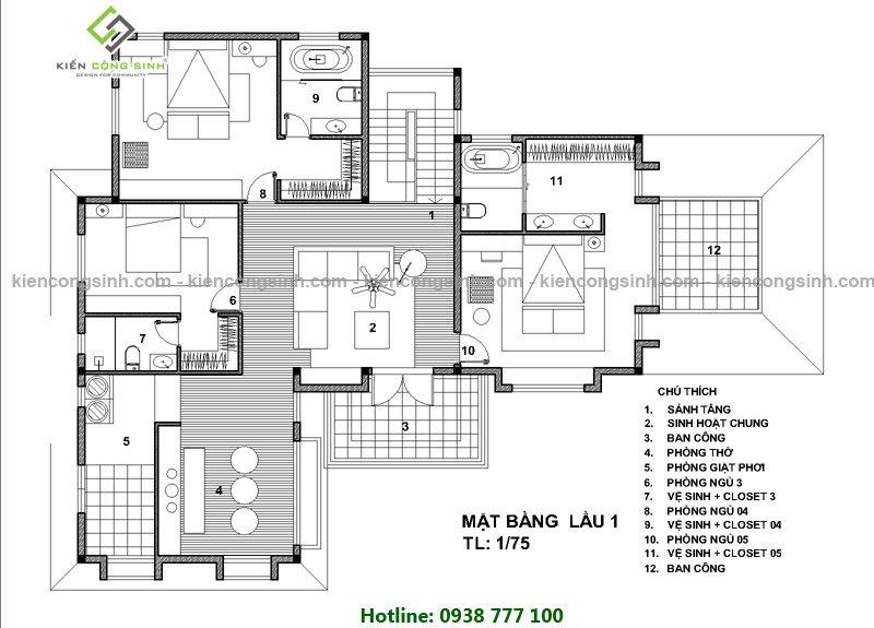 biệt thự tân cổ điển 2 tầng tại quận 12