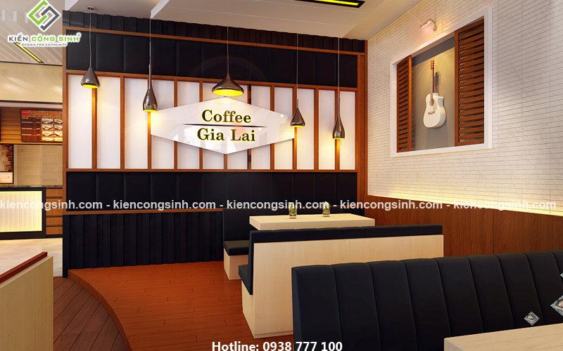 thiết kế cải tạo coffe căn tin
