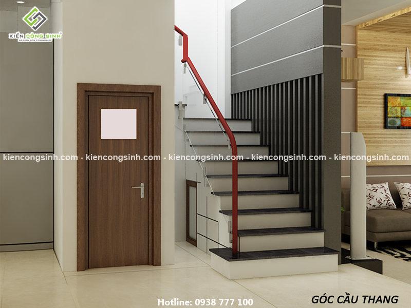 thiết kế nhà phố 3 tầng mặt tiền 5m
