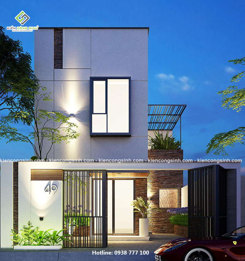 Tổng hợp những mẫu nhà 2 tầng đẹp