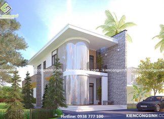 Mẫu thiết kế biệt thự 2 tầng tại Đồng Nai