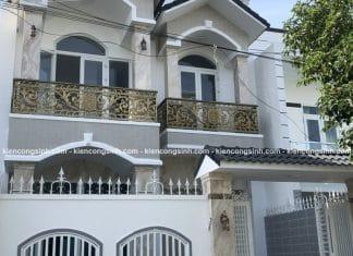 Thi công biệt thự phố 2 tầng chị Thúy tại Phan Thiết