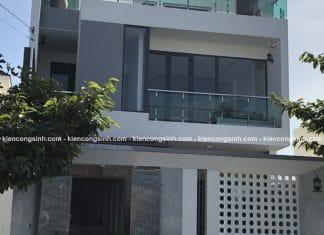 Xây dựng biệt thự phố 3 tầng hiện đại tại Phan Thiết