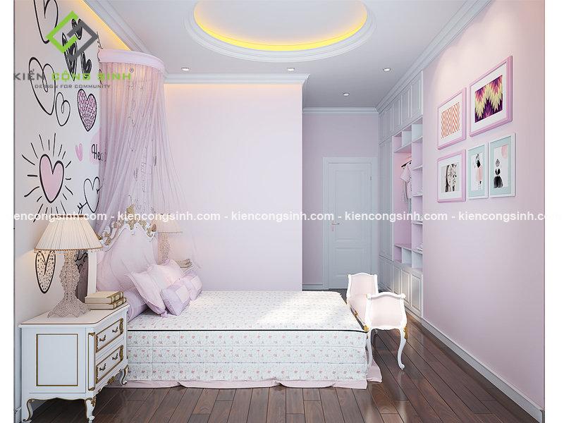 nội thất phòng ngủ biệt thự phố
