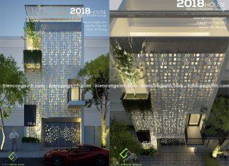Thiết kế nhà phố hiện đại mặt tiền 6m tại Phan Thiết