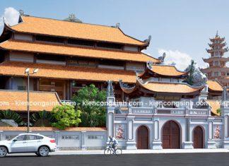 Thiết kế chùa Quảng Minh tại Bình Thuận