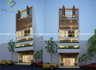 Mẫu thiết kế khách sạn mini anh Phong tại Phan Thiết