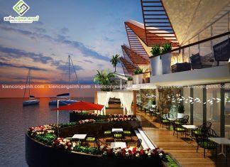 Mẫu thiết kế nhà hàng hải sản đẹp tại Phan Thiết