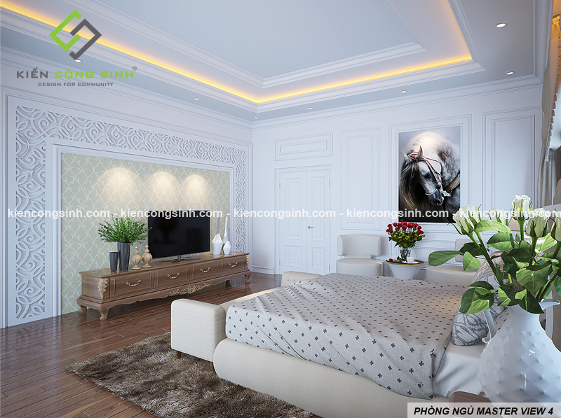 Thiết kế nội thất villa 3 tầng