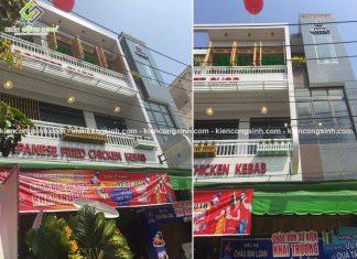 Thi công hoàn thiện siêu thị Cafe Châu Mai Loan