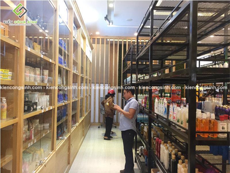 thi công hoàn thiện siêu thị cafe