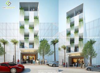 Tư vấn thiết kế nhà nghỉ Ocean Hotel tại Phan Thiết