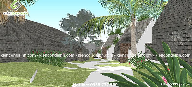 thiết kế resort homstay đẹp tại phan thiết