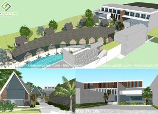 Thiết kế resort homestay nghỉ dưỡng tại Phan Thiết