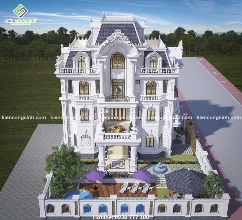 mẫu thiết kế dinh thự đẹp