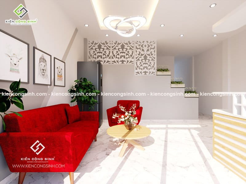 Thiết kế nhà ở kết hợp kinh doanh