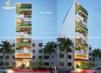 Thiết kế nhà nghỉ hiện đại tại Phan Thiết