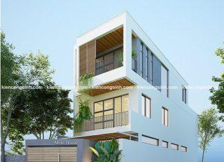 Thiết kế nhà phố kết hợp kinh doanh nhà nghỉ