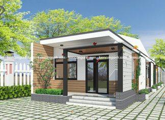 Mẫu thiết kế nhà cấp 4 hiện đại tại Phan Thiết