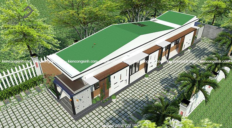 thiết kế nhà cấp 4 tại Phan Thiết