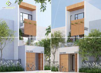 Thiết kế nhà phố 3 tầng hiện đại tại Bình Tân