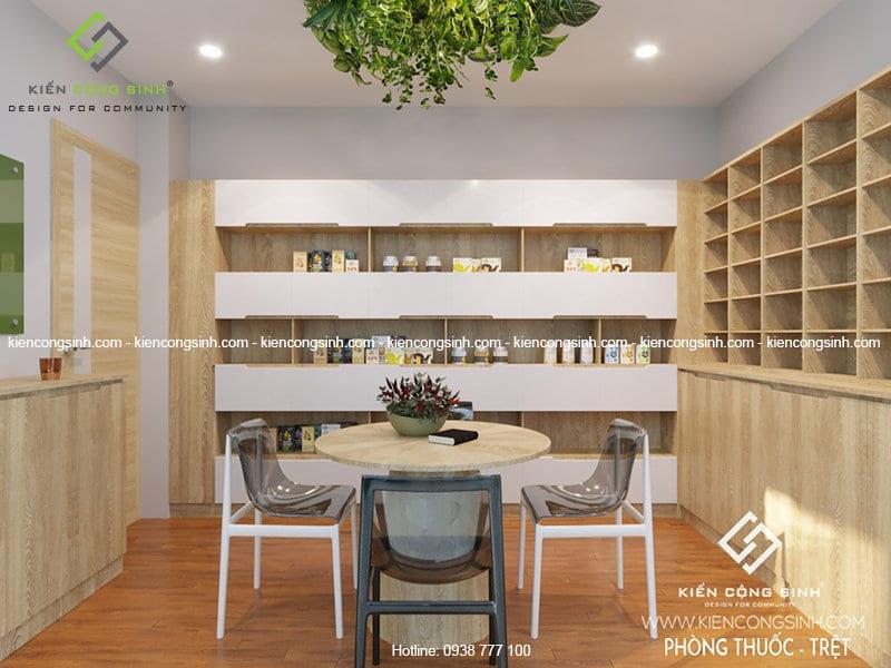 thiết kế nội thất phòng nha khoa