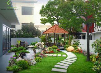 Tư vấn thiết kế tiểu cảnh sân vườn đẹp nhất hiện nay