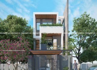 Tư vấn thiết kế nhà phố 2 lầu tại Bình Thuận