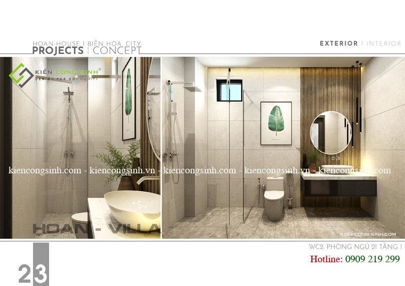 Thiết kế nội thất biệt thự villa
