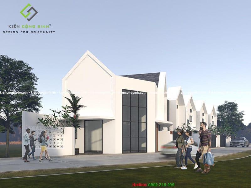 dự án nhà lô phố