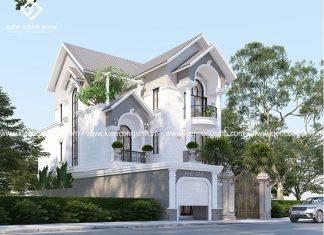 Thiết Kế Biệt Thự 3 Tầng Mái Thái tại Bình Thuận