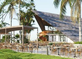 Mẫu Thiết Kế Quán Cafe Sân Vườn Tại Định Quán Đồng Nai