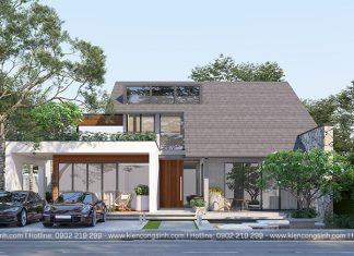 Mẫu Thiết Kế Biệt Thự Villa Chị Thanh tại Vũng Tàu
