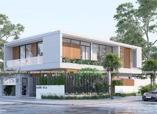 Mẫu Thiết Kế Villa Biệt Thự Hiện Đại tại Bình Thuận
